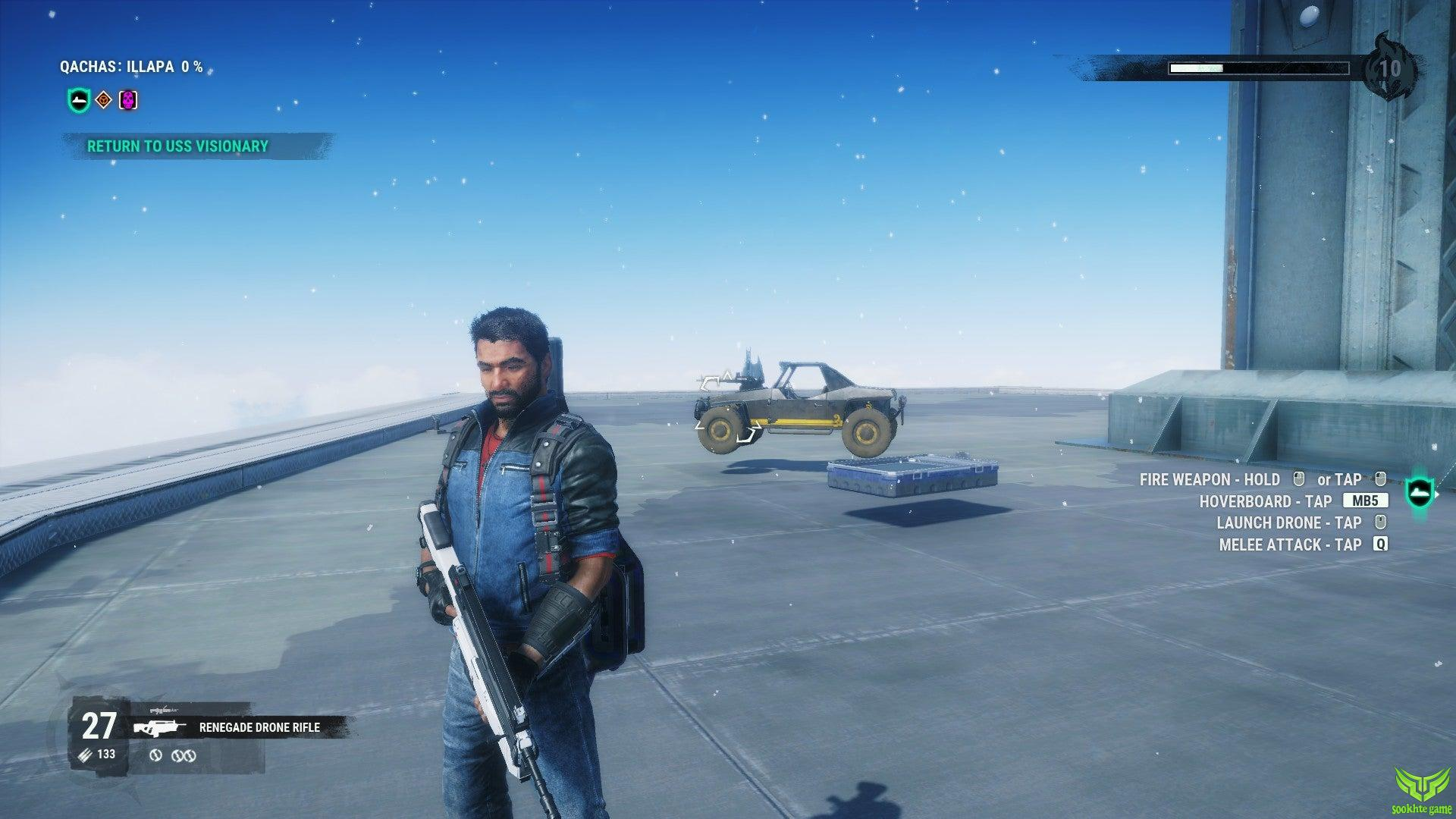 تصویری از بازی JUST CAUSE 4 RELOADED EDITION