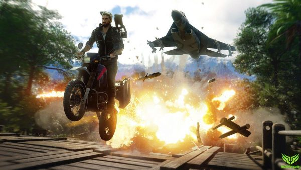 موتور در JUST CAUSE 4 RELOADED EDITION
