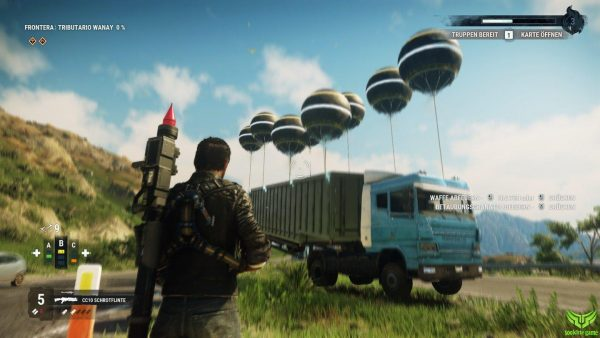 فضای بازی JUST CAUSE 4 RELOADED EDITION