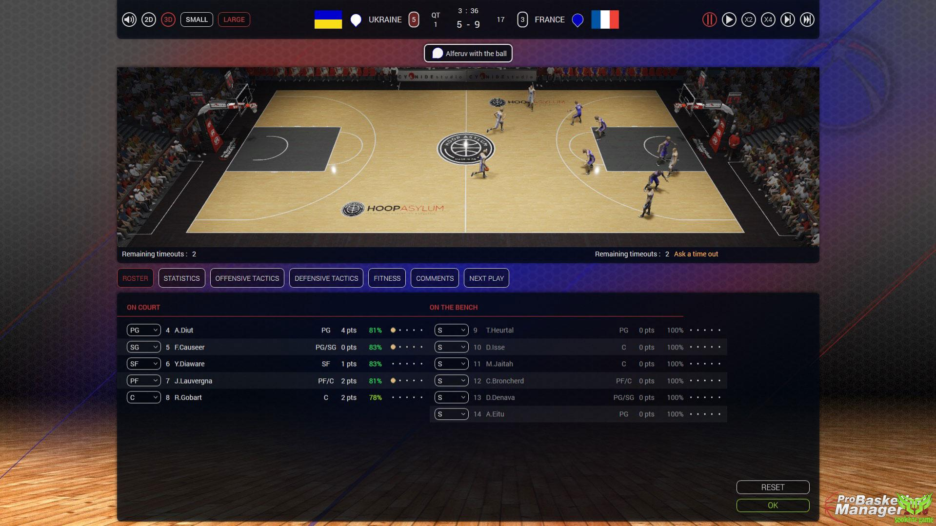 Pro Basketball Manager 2016 12